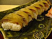 一番人気の鯖寿司